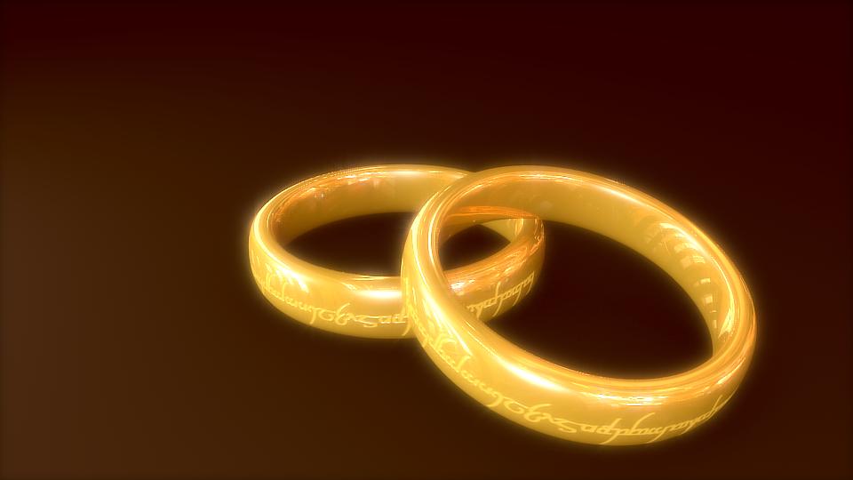 Blender Gold Ring
