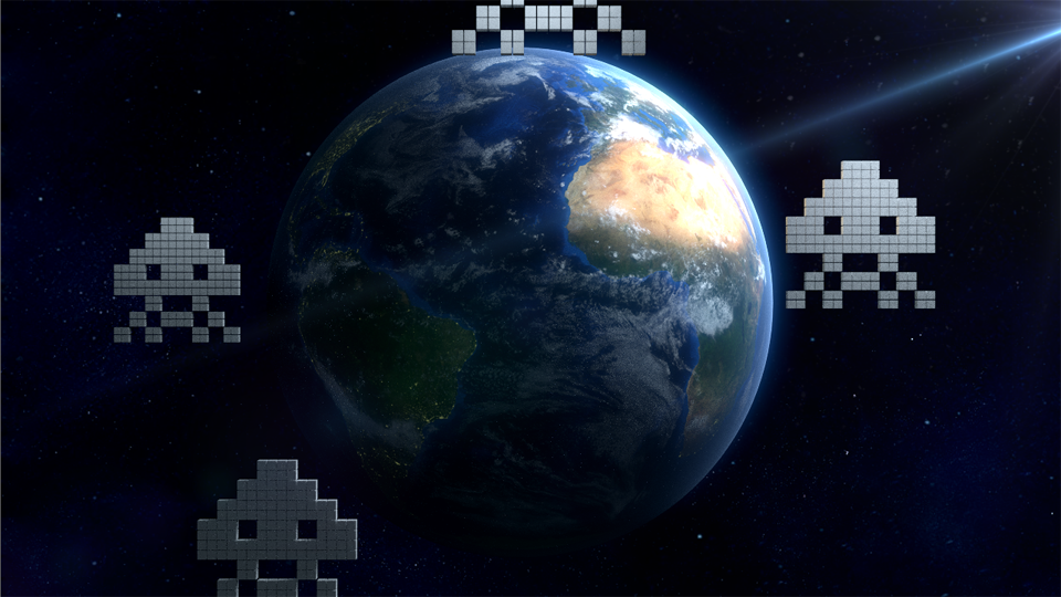 Blender earth