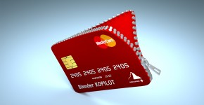 Zippered Credit Card