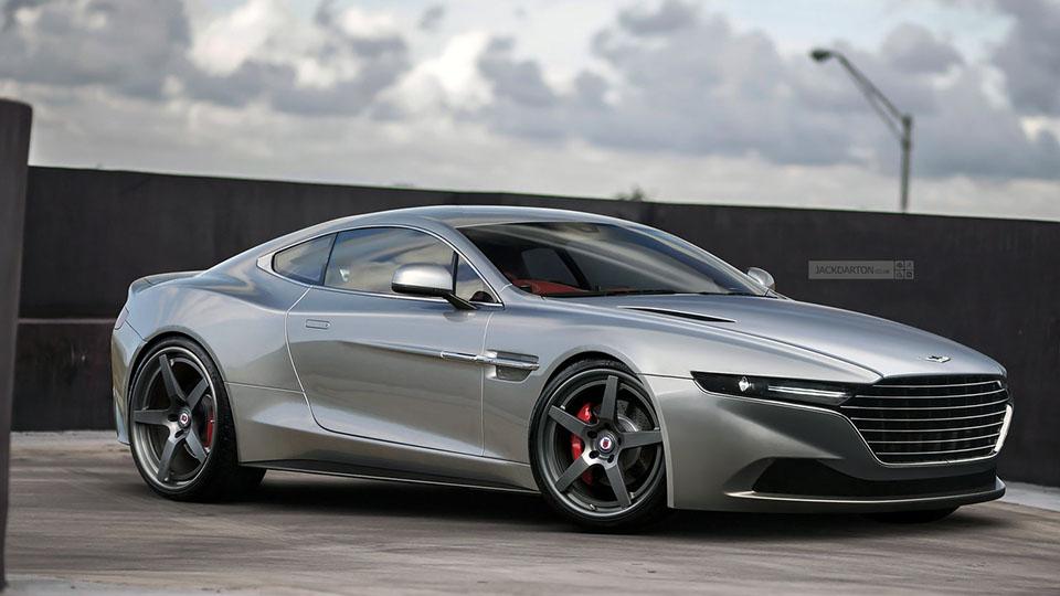 Blender Blog Jack Darton Aston Martin Lagonquish
