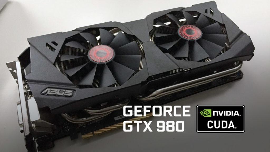 GPU render CUDA GTX 980