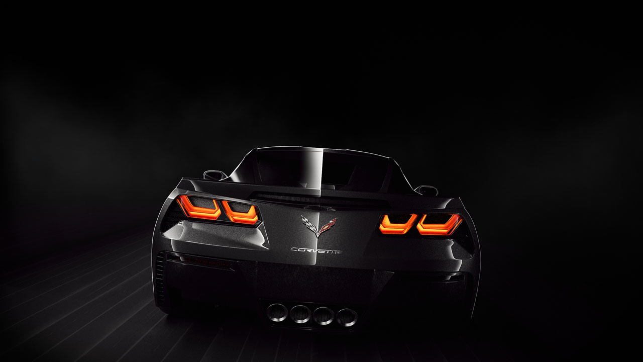 Blender Corvette C7 Stingray