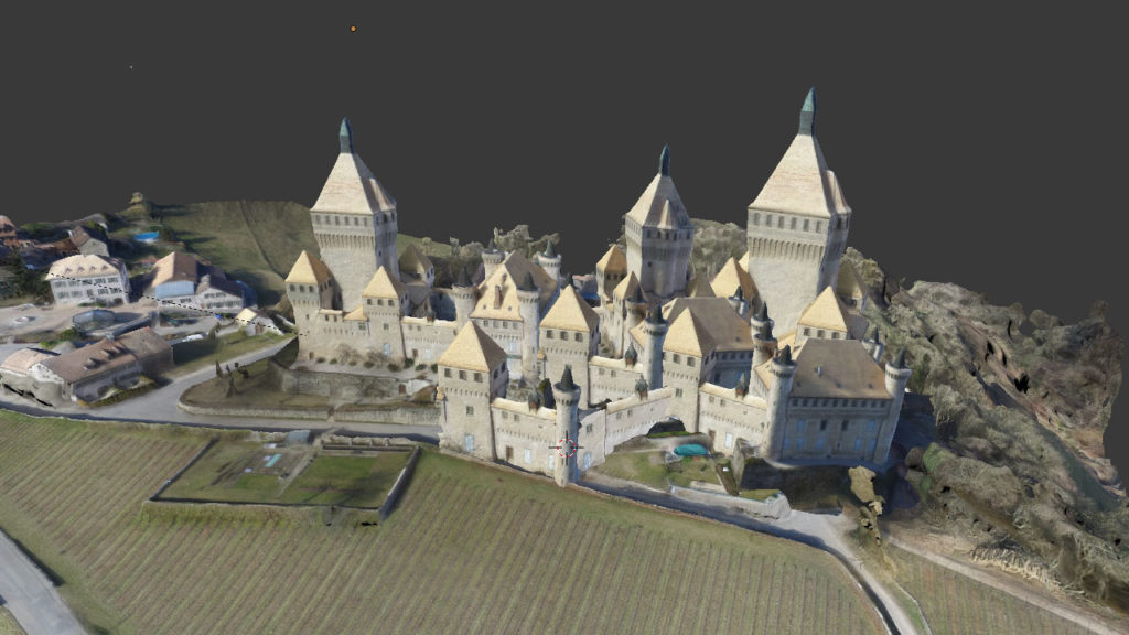 photogrammetry creativity Olivier Mega Castle