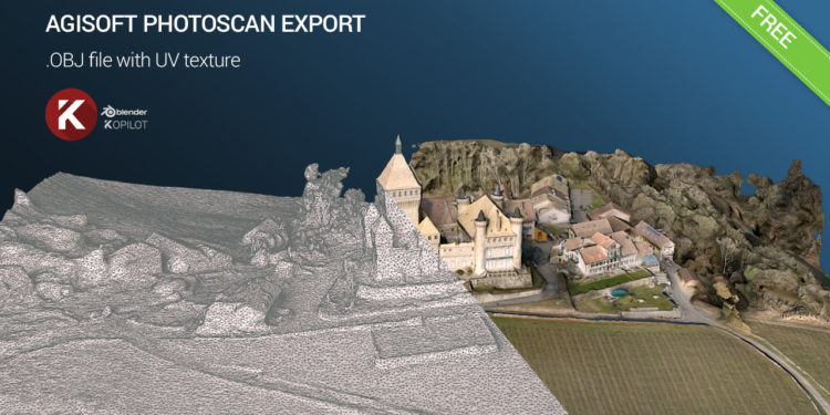 aerial photogrammetry OBJ vufflens