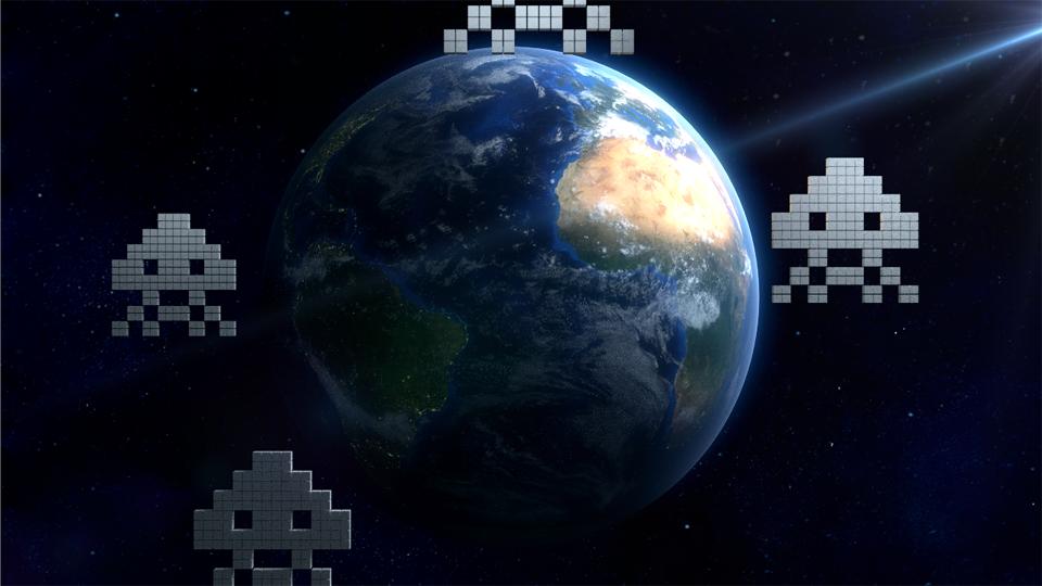 Blender earth