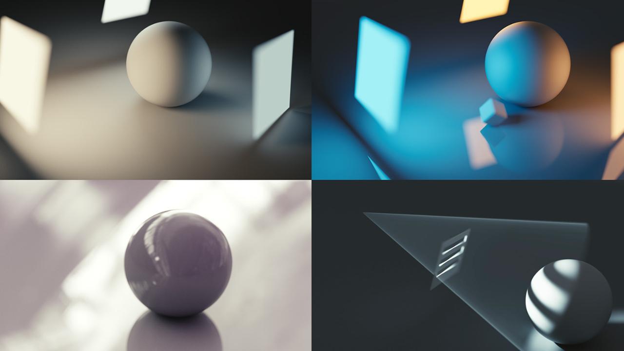 Blender lighting Gleb Alexandrov
