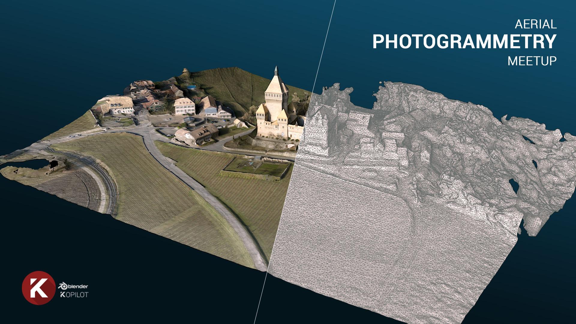 Aerial Photogrammetry Experiment