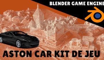 Blender game engine car kit Gregdesign