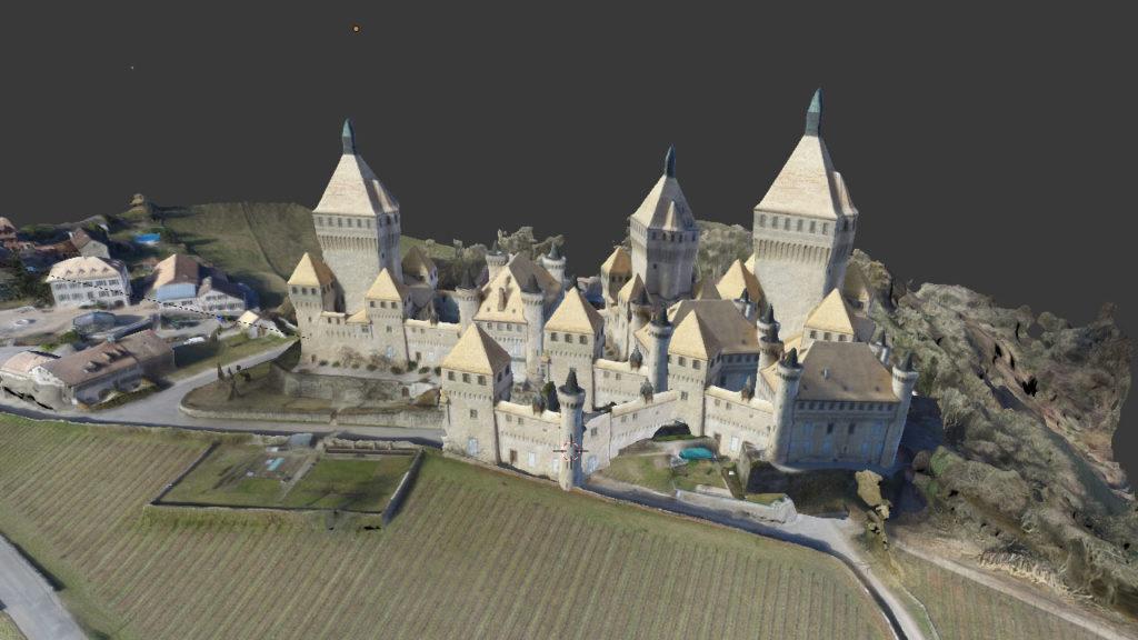 photogrammetry creativity Olivier Mega Castle