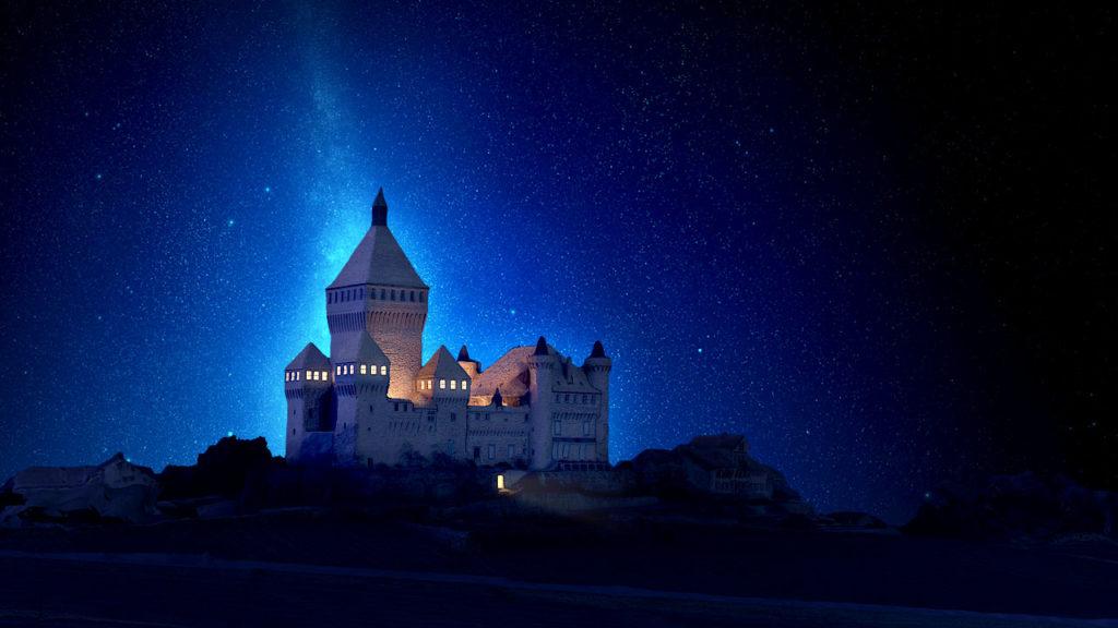 Blender photogrammetry castle Thierry